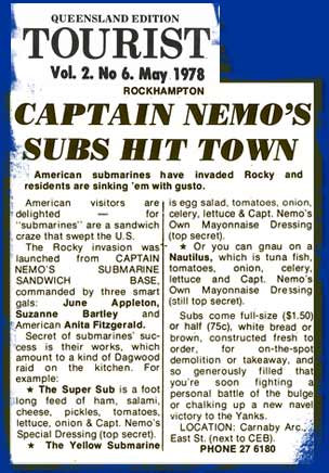 Captain Nemo's Subs hit town