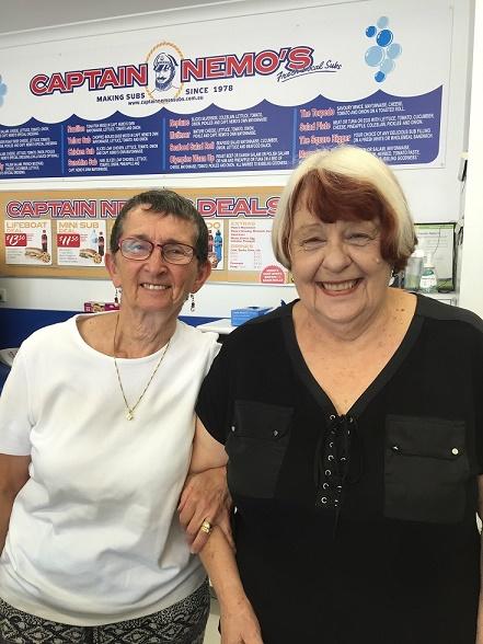 Anita and Cindy